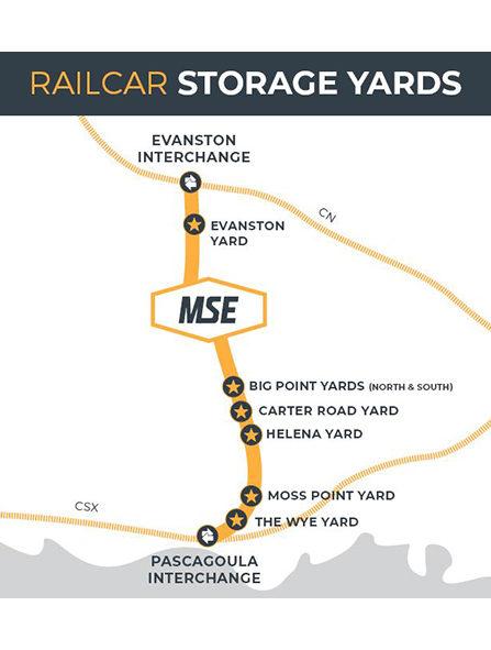 <span>Railcar</span>Storage